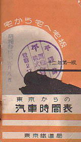 Japanese Government Railways 1937/03