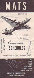 Military Air Transport Service 1952/08