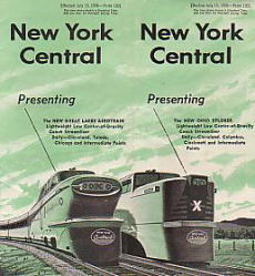 New York Central 1956/07