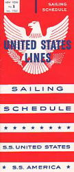 UNITED STATES LINES 1960/01